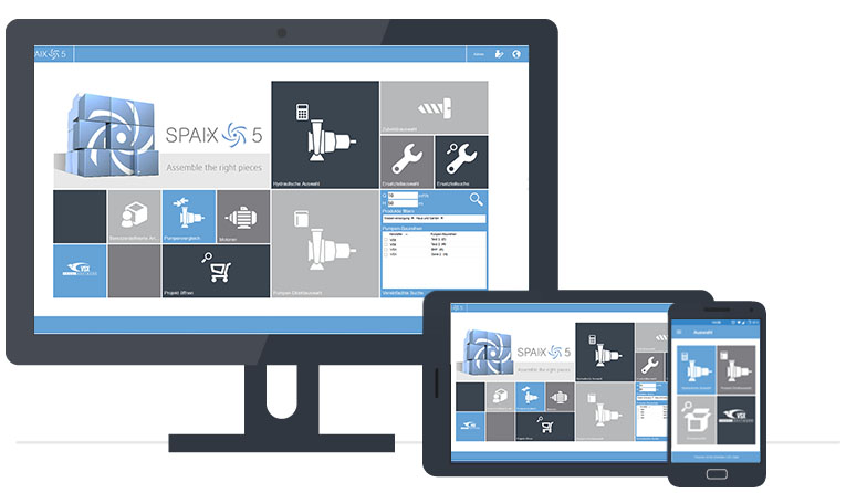 Spaix 5 Pump Selection Software